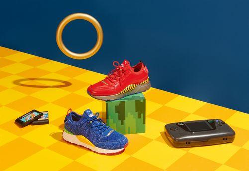 Ecco le scarpe PUMA dedicate a Sonic the Hedgehog - VIGAMUS Magazine ... 8f42f2f96fb