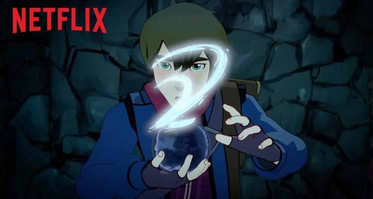 Il principe dei draghi un filmato mostra la serie animata del