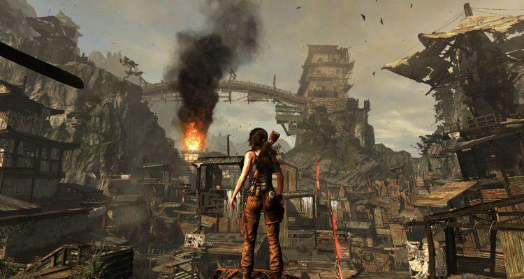 Tom Raider scena dal gioco